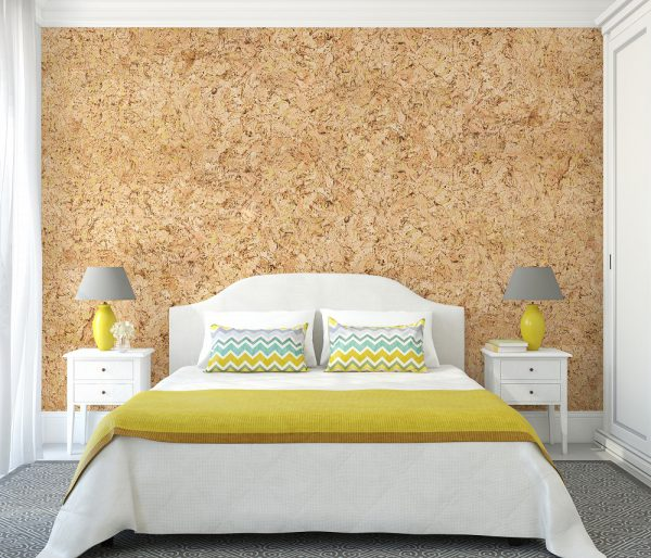 wall cork malta yellow