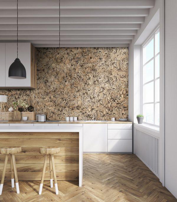 wall cork bambo III