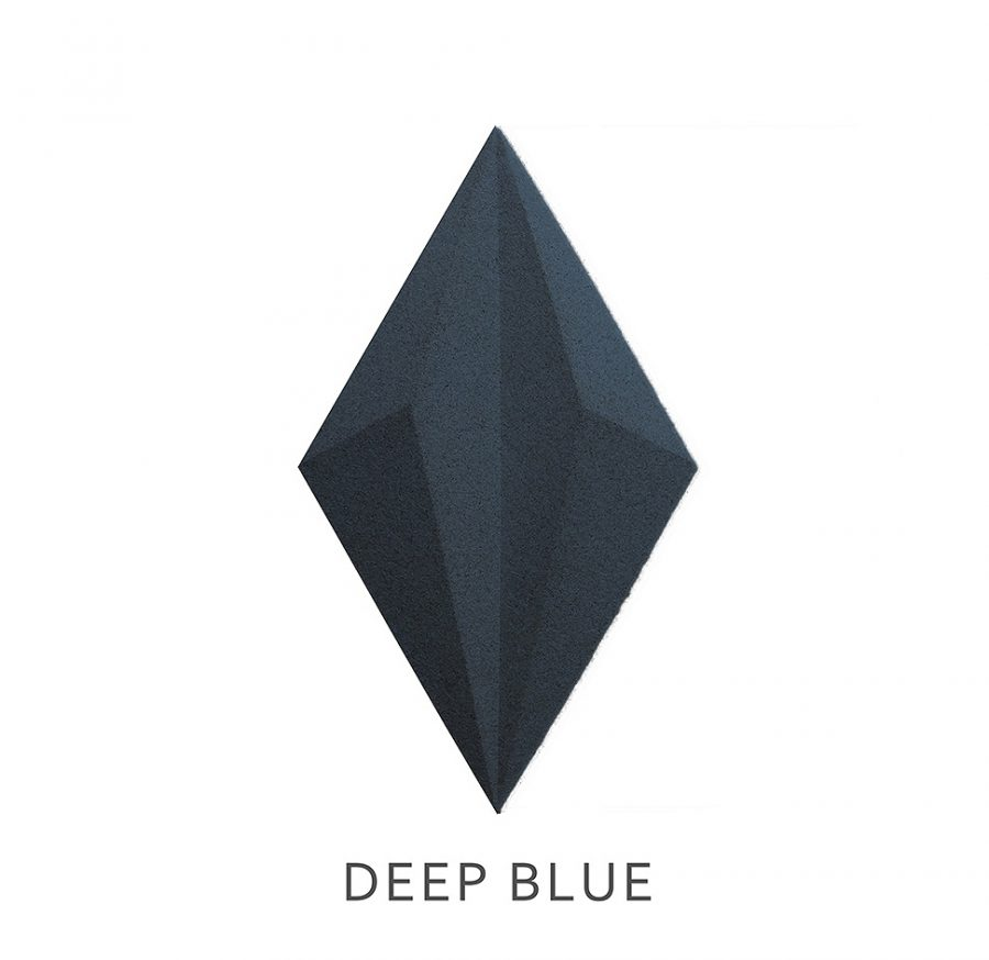 3D Wandpaneele Line DEEP BLUE