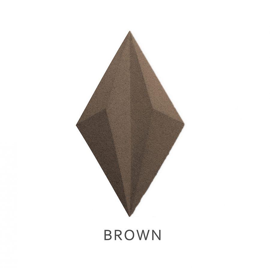 3D Wandpaneele Line Brown