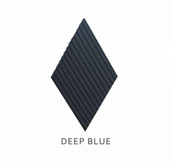 3D Wandpaneele Stripe DEEP BLUE